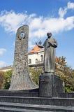 Monument till den ukrainska poeten Taras Shevchenko Arkivbilder