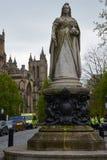 Monument till drottningen och kejsarinnan Victoria i Bristol, England Royaltyfri Bild