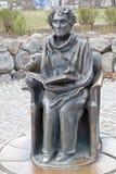Monument till författaren royaltyfria bilder
