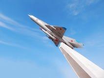 Monument till flygplankämpen Royaltyfri Fotografi