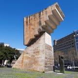 Monument till Francesc Macia Arkivfoto