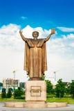 Monument till Francisk Skarina i Minsk Fotografering för Bildbyråer