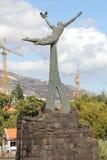 Monument till fred och frihet i Funchal Arkivfoto
