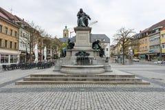 Monument till Friedrich Rueckert - en tysk poet, översättare och professor av orientaliska språk Fotografering för Bildbyråer