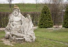 Monument till guden Zolochevskaya fästning carpathian kyrkliga mts västra små ukraine Royaltyfria Bilder