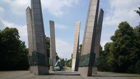 Monument till härligheten till Sappers (Pomnik ChwaÅ 'en Saperom) Royaltyfria Foton