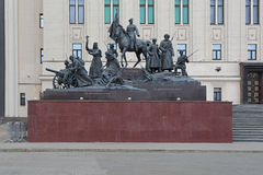 Monument till hjältarna av det första världskriget Royaltyfri Foto