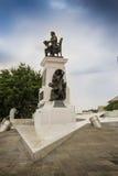 Monument till Jose Joaquin de Olmedo i Guayaquil Arkivbilder