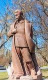 Monument till Joseph Stalin Arkivbilder