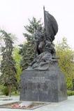 Monument till kämpar av den socialistiska revolutionen av 1917 Royaltyfri Foto
