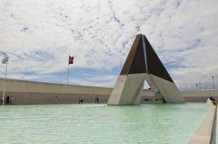 Monument till kämparna som är utländska i Lissabon, Portugal royaltyfri foto