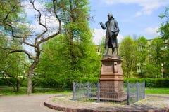 Monument till Kant arkivbilder