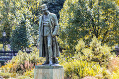 Monument till kejsaren Franz Joseph I vienna _ Royaltyfria Foton