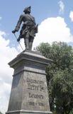 Monument till kejsaren Peter 1 Arkivbild