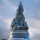 Monument till kejsarinnan Catherine II i St Petersburg Royaltyfria Foton