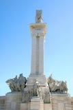 Monument till konstitutionen av 1812, Cadiz, Spanien Arkivfoto