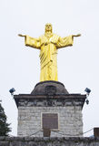 Monument till Kristus konungen Arkivfoton