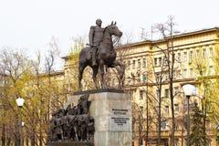 Monument till Kutuzov. Ryssland Moskva. Royaltyfria Bilder
