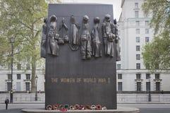 Monument till kvinnor av det andra världskriget Royaltyfri Foto