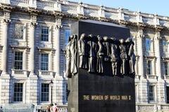 Monument till kvinnorna av världskriget Fotografering för Bildbyråer