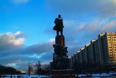 Monument till Lenin i Moskva Royaltyfria Bilder