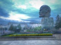Monument till Lenin i Ulan-Ude, Buryatia, Ryssland Arkivfoton