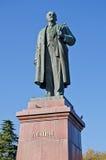 Monument till Lenin i Yalta Fotografering för Bildbyråer
