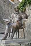 Monument till målaren Korovin Royaltyfri Foto