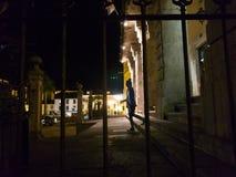 monument till marquesna de Sargadelos i Ribadeo arkivfoton