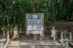 Monument till Mikhail Yurievich Lermontov Royaltyfria Foton