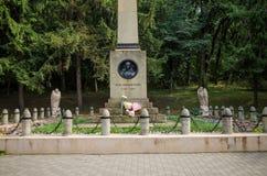 Monument till Mikhail Yurievich Lermontov Royaltyfria Bilder