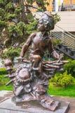 Monument till Nahalenok - tecken av berättelsen för Sholokhov ` s Royaltyfri Foto