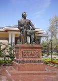 Monument till Nursultan Nazarbayev i Ankara kalkon Arkivbilder