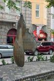 Monument till offer av kommunism i 1939-1989 fotografering för bildbyråer