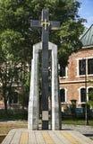 Monument till offer av kommunism i Varna lökformig royaltyfria foton