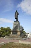 Monument till Pavel Nakhimov i Sevastopol ukraine Royaltyfria Bilder