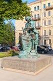 Monument till Peter den utmärkt namngav konungsnickaren - gåvan till c Fotografering för Bildbyråer