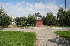 Monument till Peter det stort Fotografering för Bildbyråer