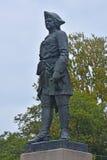 Monument till Peter det stort i Shlisselburg, Ryssland Royaltyfri Bild