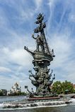 Monument till Peter storen Fotografering för Bildbyråer