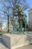 Monument till Peter storen Arkivfoto