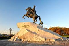 Monument till Peter storen Royaltyfria Bilder
