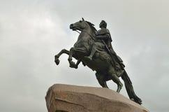 Monument till Peter storen Arkivbild