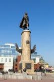 Monument till Peter storen Lipetsk Ryssland Royaltyfria Foton