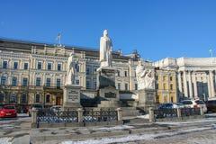 Monument till prinsessan Olga Fotografering för Bildbyråer