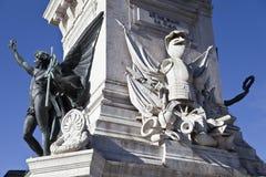 Monument till restorersna royaltyfria bilder