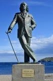 Monument till Salvador Dali i Cadaques, Spanien Arkivbild