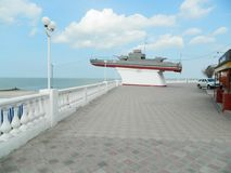 Monument till sjömän som försvarade deras hemland royaltyfria foton