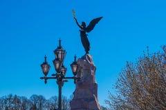 Monument till slagskeppet Rusalka - Tallinn royaltyfri foto