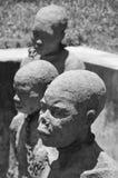 Monument till slavar Arkivbild